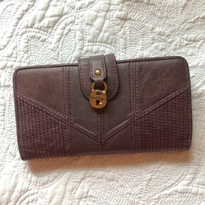 Juicy Couture Large Soft Leather Wallet
